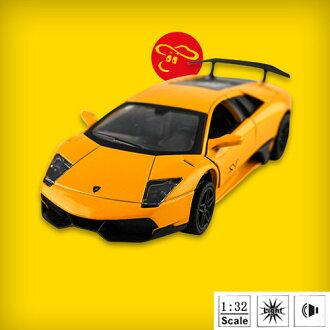 【瑪琍歐玩具】1:32授權合金車LAMBORGHINI LP670-4