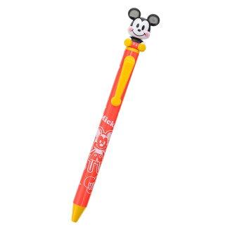 【真爱日本】15102700039 限定DN晃晃圆珠笔-FUN米奇 迪士尼 米老鼠米奇 米妮 原子笔 文具用品 书写