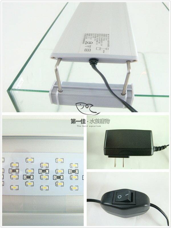 [第一佳 水族寵物] 台灣水族先生Mr.Aqua MA2超亮省電LED伸縮跨燈 [1.5尺(135燈)] 免運