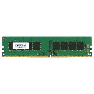 【最高可折$2600】美光 Micron Crucial DDR4 2400 8GB 美光 8G/D4/2400 桌上型 RAM 記憶體 (捷元公司貨)