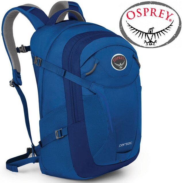 Osprey Parsec 31 日用系列後背包/電腦包 登山背包/健行背包 寶石藍/台北山水