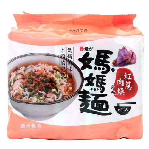 維力 媽媽麵 紅蔥肉燥風味 80g (5入)/袋