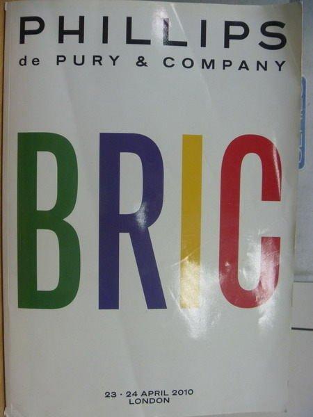 【書寶二手書T6/藝術_YAP】PHILLIPS_2010/4/23-24_BRIC
