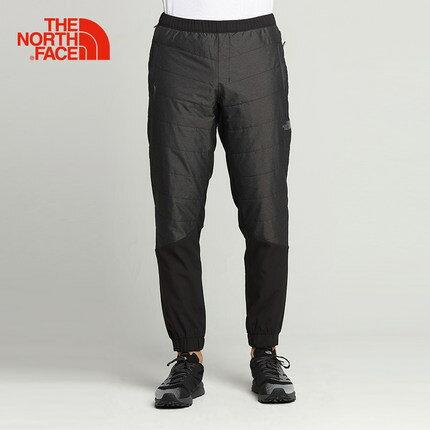 [ THE NORTH FACE ] 男 輕量舒適保暖縮口褲 黑 / 公司貨 NF0A3RGFJK3