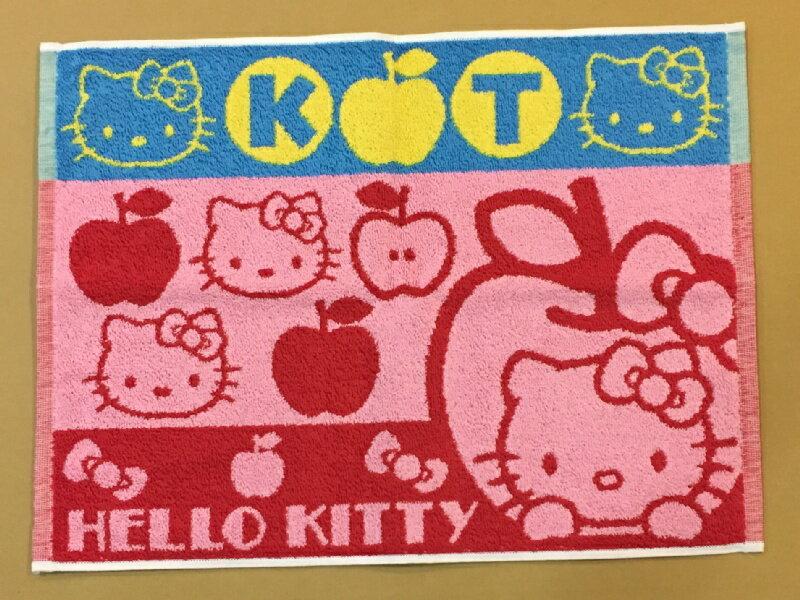 『日本代購品』限量品 KITTY 毛巾浴墊 腳踏墊 吸水地墊 45*60