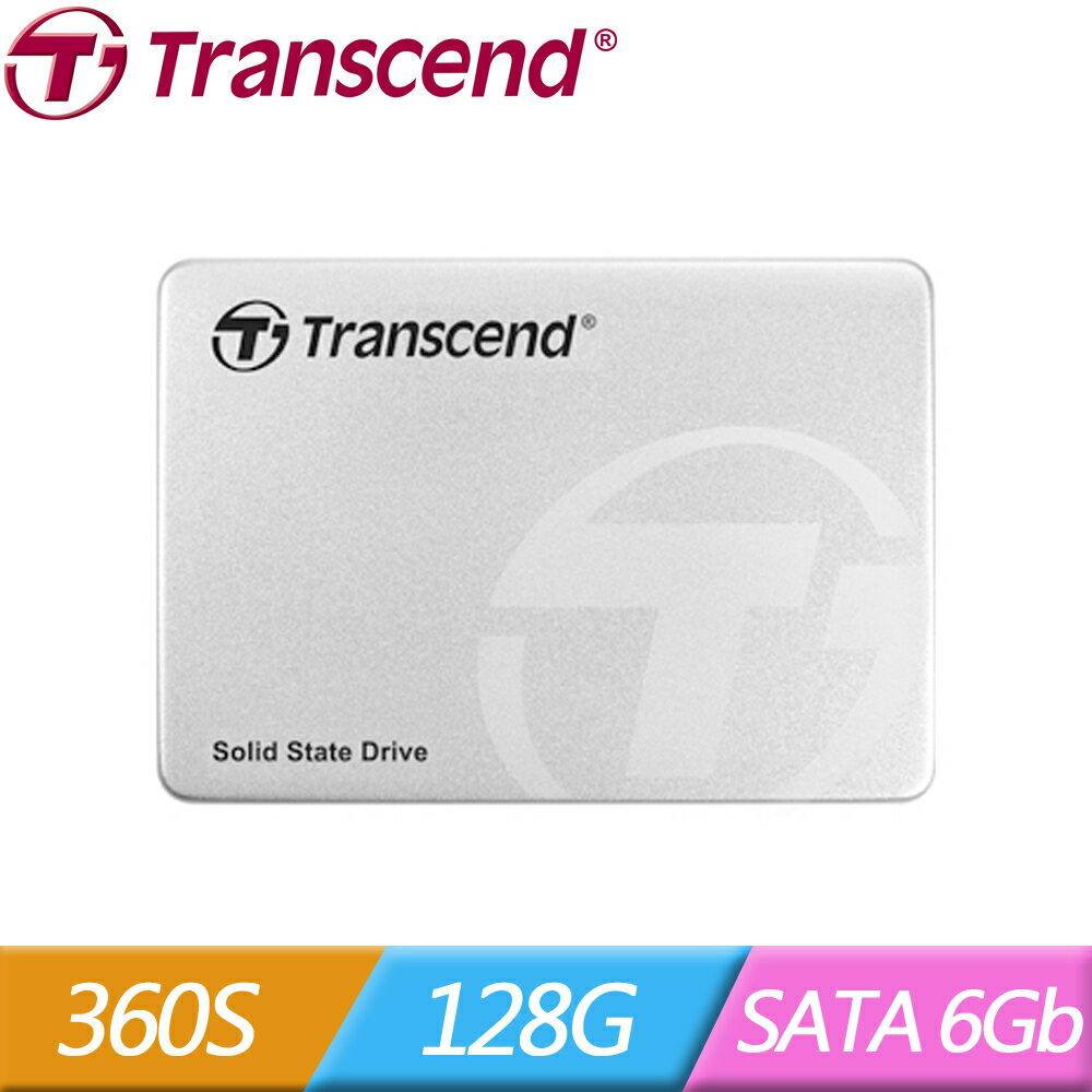 【3/27前全店滿萬現領 $1000‧滿$5000領$400】Transcend 創見 360S 128G 2.5吋 7mm SATA3 SSD 固態硬碟