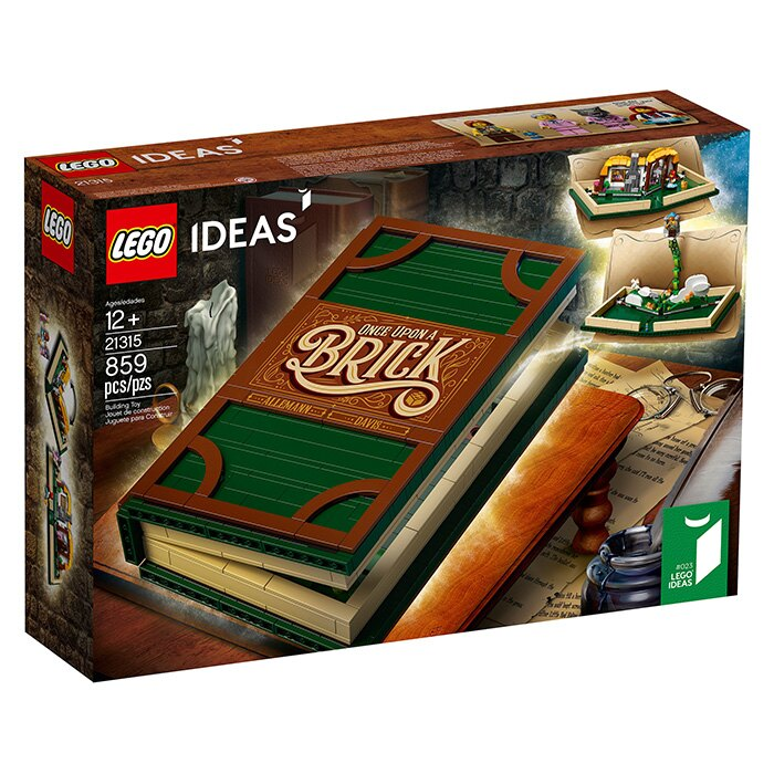 LEGO 樂高 IDEAS系列 21315 立體書 Pop~Up Book ~鯊玩具Toy