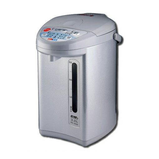 東龍E-VIP3.2L 真空保溫省電熱水瓶 TE-2532