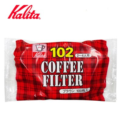 【Kalita】NK102無漂白濾紙 #13125 /100枚入