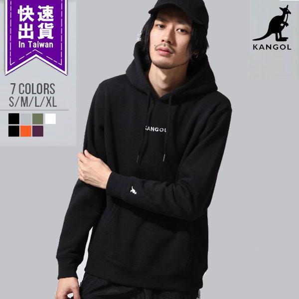 ★台灣現貨 素色帽T KANGOL聯名款 9