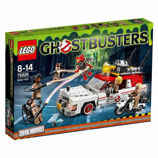 【LEGO 樂高積木】魔鬼剋星系列 - 抓鬼車 Ecto-1 & 2 LT-75828