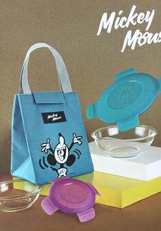 迪士尼系列米老鼠-繽紛塗鴉 保冷保溫提袋 戶外運動休閒 學生 孩童 聖誕節交換禮 小資上班族最愛-18x16.5x24.5cm