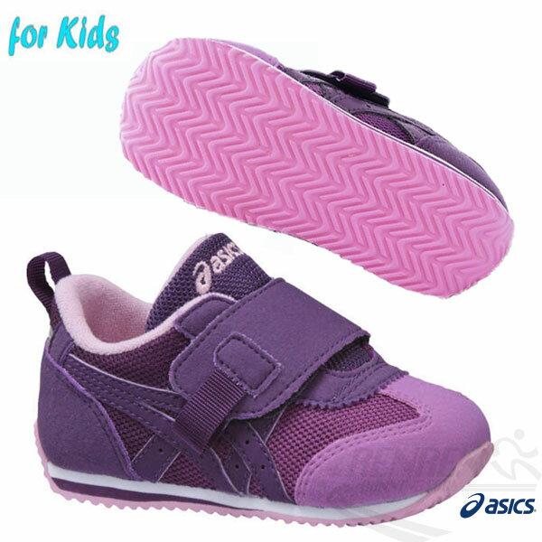 ASICS亞瑟士兒童學步鞋IDAHOBABYGR-ES2(紫)
