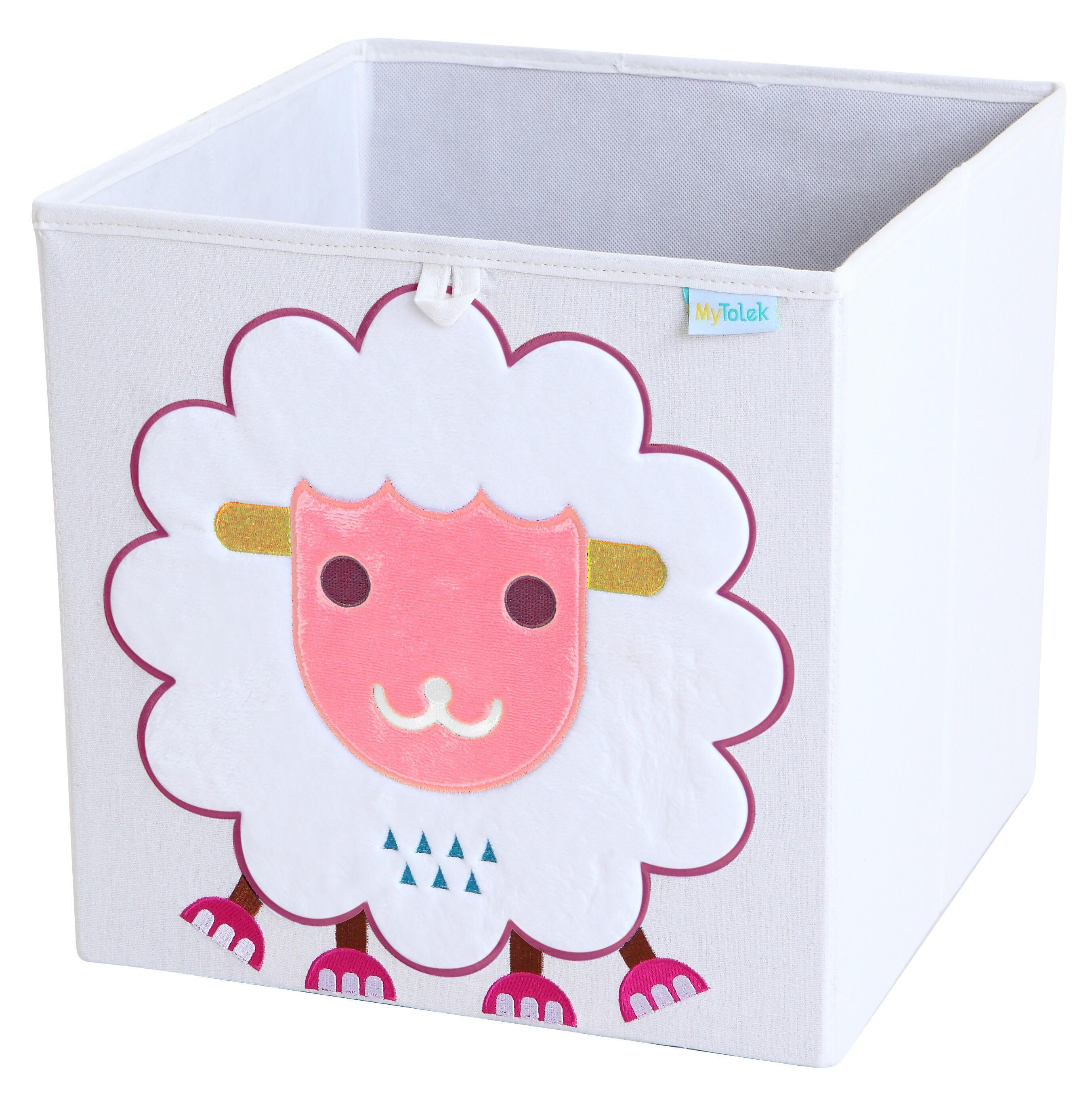 收納櫃 收納  收納箱 兒童收納 MyTolek 童樂可積木櫃&藏寶盒六件組(北歐風~木紋) 9