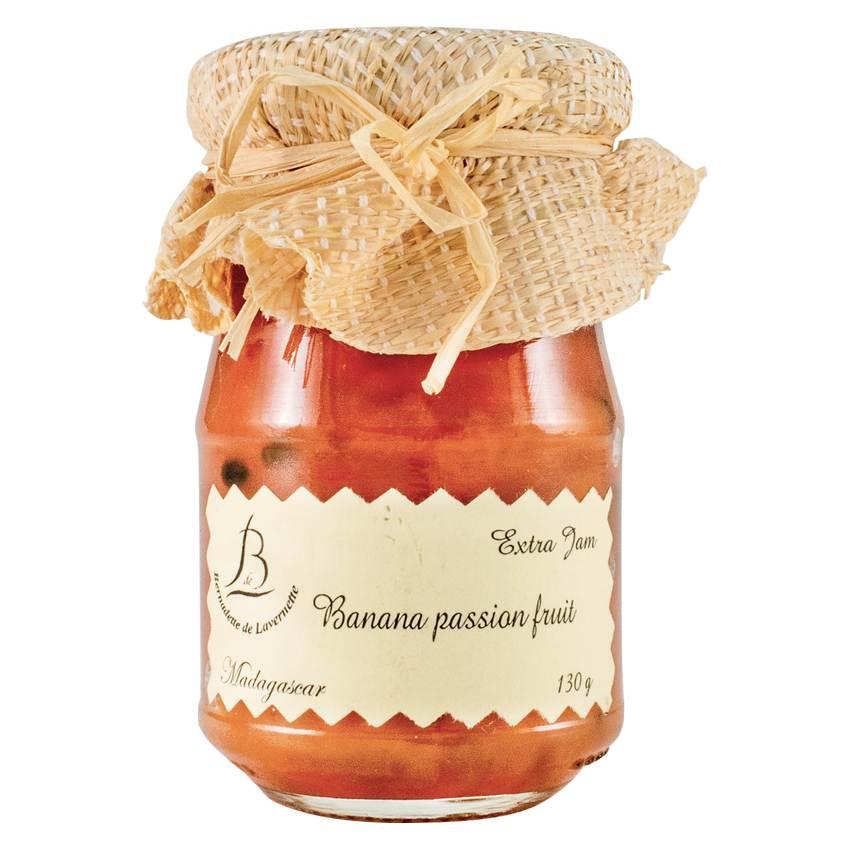 【紅島BDL天然手工法式果醬】#11百香果香蕉醬 (原裝原瓶進口)