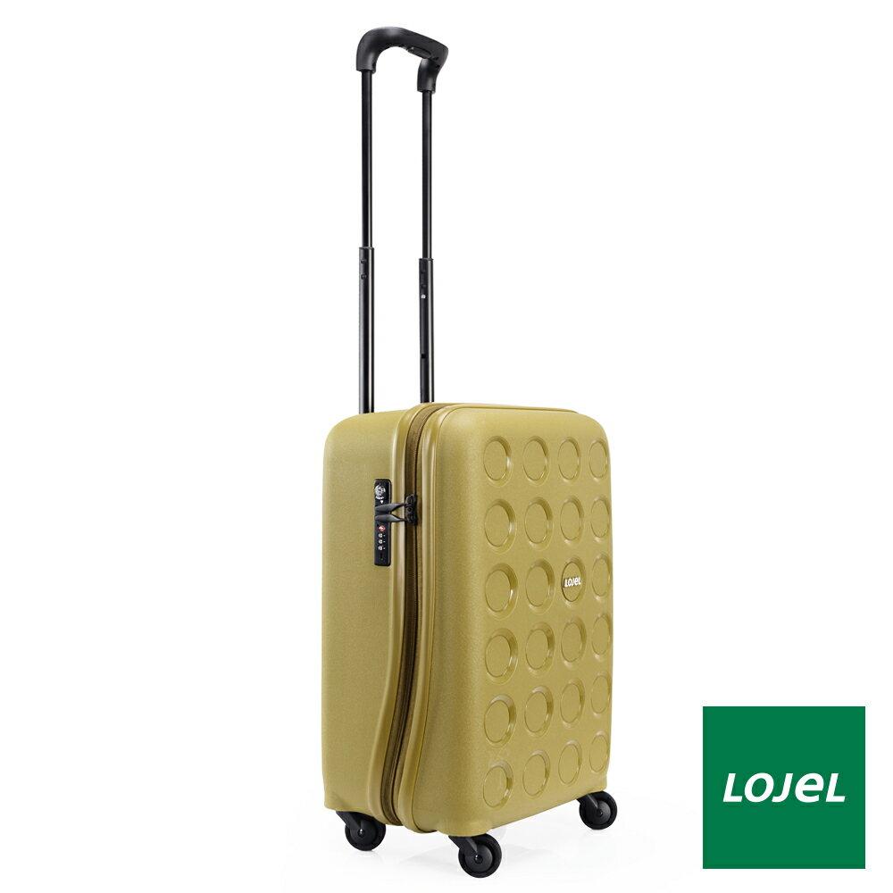【日本 LOJEL】日本設計 19.5吋 橄欖綠 PP VITA 拉鍊(登機 行李箱 / 旅行箱)
