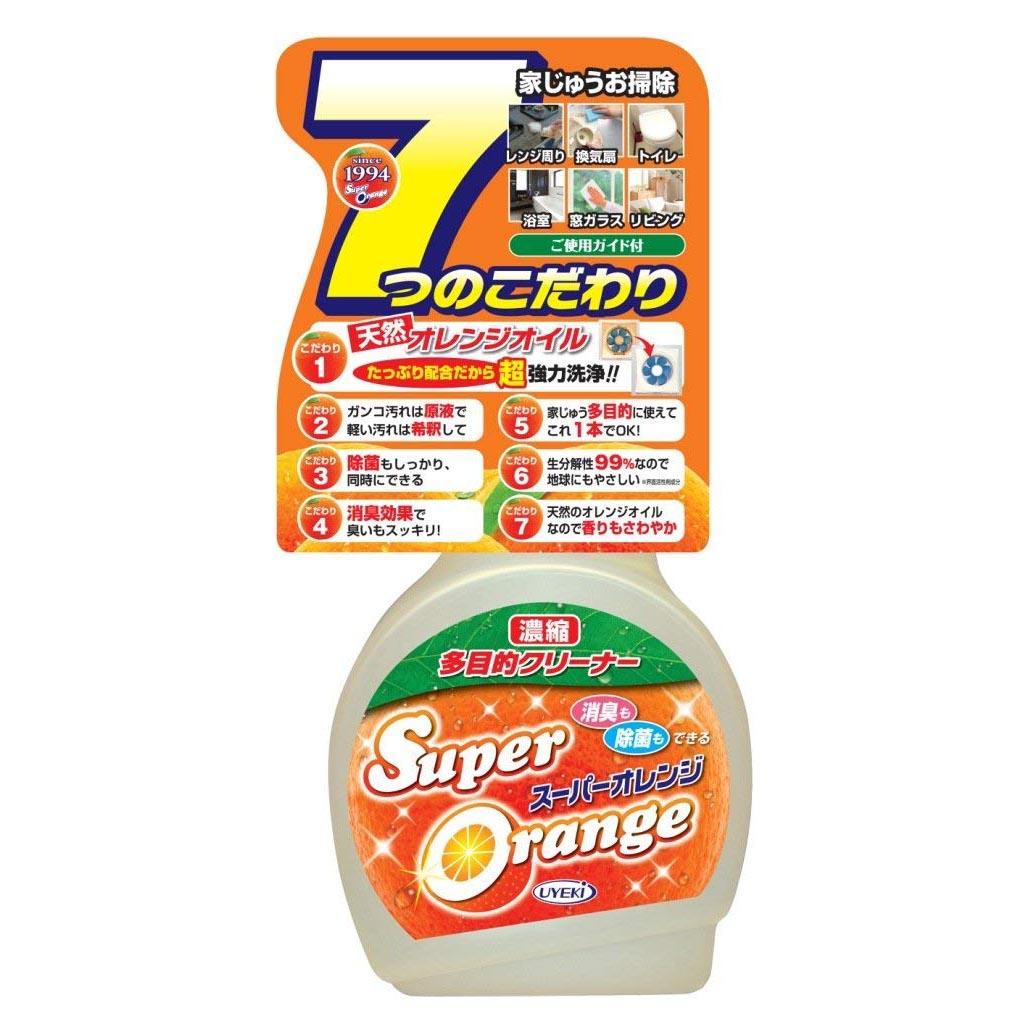 製 UYEKI 天然橘油多用途濃縮清潔劑 天然成份不傷手消臭除菌廚房浴廁玻璃去污漬除汙清潔