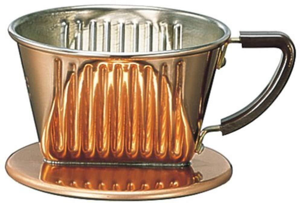 Kalita/銅製咖啡濾杯/101-CU。1色。(3550)日本必買代購/日本樂天