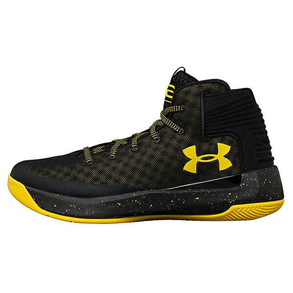 《出清59折》Shoestw【1298308-002】UNDER ARMOUR UA 籃球鞋 CS 3 ZERO 高筒 CURRY 黑黃 男生 0