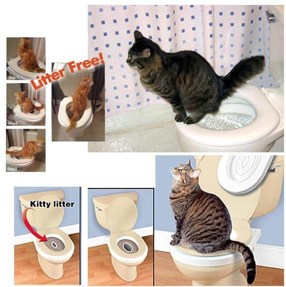 【省錢博士】貓用坐便墊馬桶墊 / 馬桶坐便訓練器 - 限時優惠好康折扣