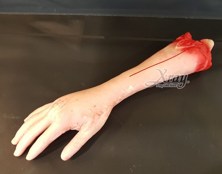 X射線【W228901】萬聖節道具擺飾-假手臂,萬聖節 / 擺飾 / 假器官 / 整人道具 / 造型配件 0