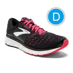 BROOKS 18FW 緩衝型 女慢跑鞋 GLYCERIN 16系列 D寬楦 1202781D070 贈腿套【樂買網】