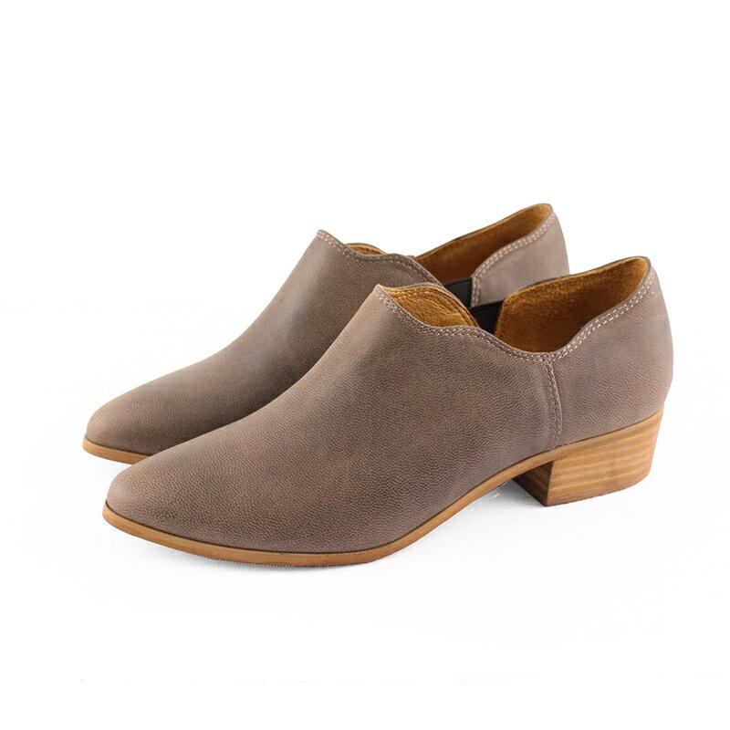 【B2-16130L】鞋口不規則個性踝靴_Shoes Party 5