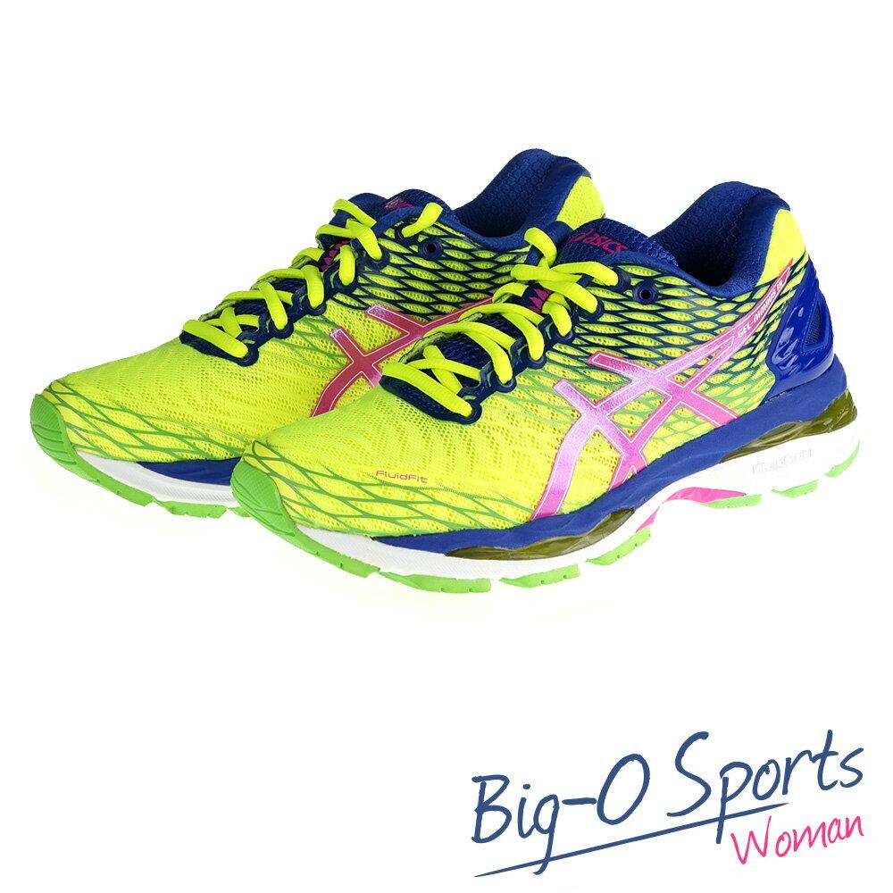 ASICS 亞瑟士 GEL-NIMBUS 18 頂級慢跑鞋 女 T650N0735 Big-O Sports