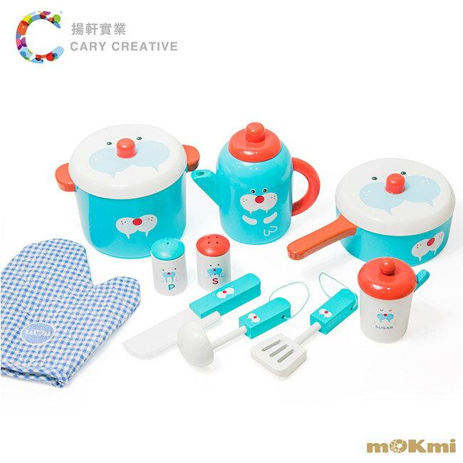【木可米mOKmi x umu】木製家家酒-10件鍋具組 MO100015