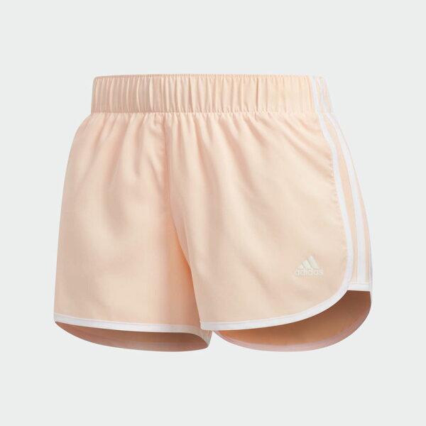 ADIDASM10ICON女裝短褲慢跑休閒透氣舒適粉【運動世界】CZ3510