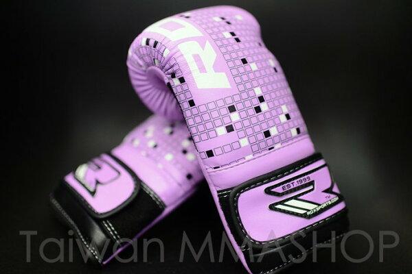[古川小夫]RDX小手專區MMA紫色英國真皮拳擊手套~英國拳擊RDX4oz拳擊手套~RDX真皮拳套4oz開運紫