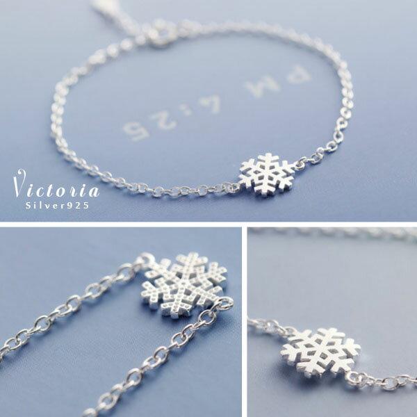 S925銀簡單時尚風格手鍊