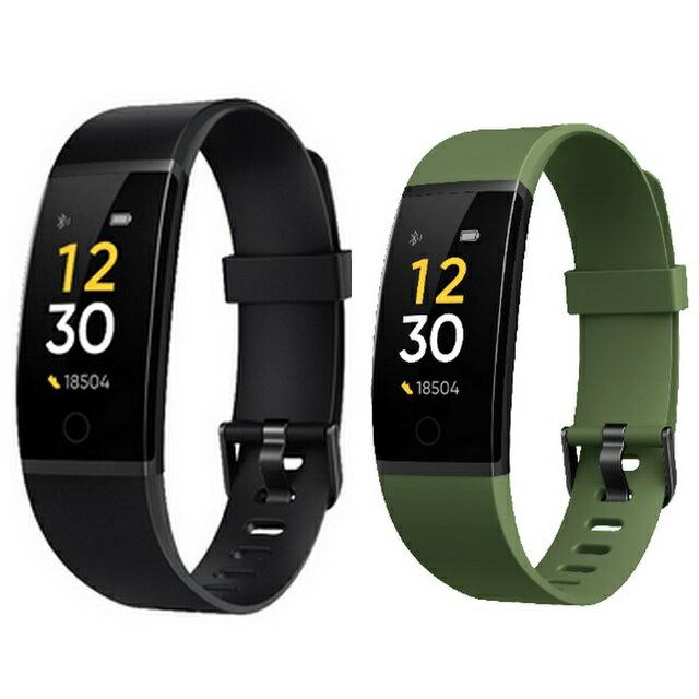 Realme手環(基礎版)長效續航管理健康不間斷—黑色、綠色