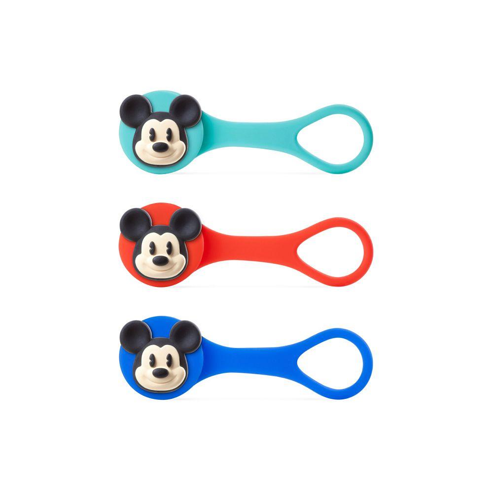 Bone|米奇逗扣Q束繩 捲線器 線材收納 Disney 迪士尼