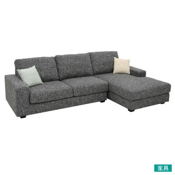 ◎布質左躺椅L型沙發 GRAND DGY  NITORI宜得利家居 0