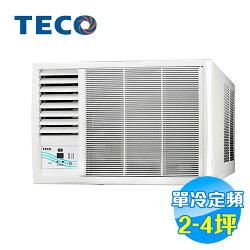 東元 TECO 左吹單冷定頻窗型冷氣 MW20FL1 【送標準安裝】