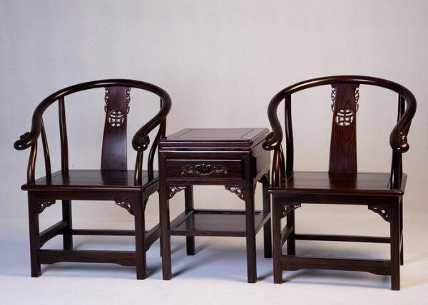 【石川家居】KL-144紫檀明式房間組椅台中以北搭配車趟免運費