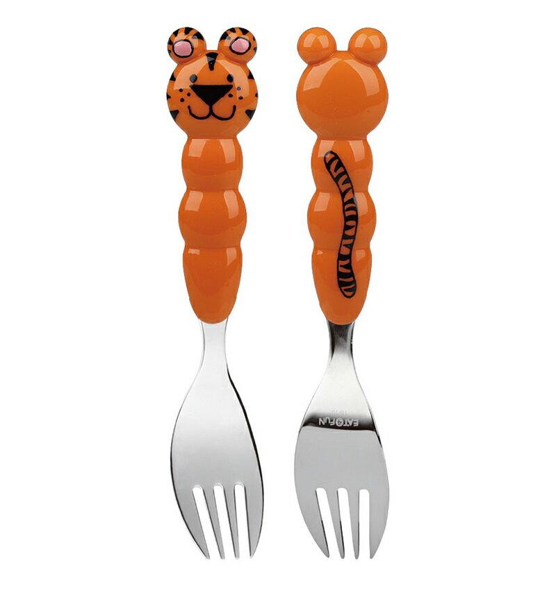 『121婦嬰用品館』EAT4FUN 兒童餐具動物園 叉子 - 老虎 0