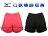 Shoestw【J2TB6755-】MIZUNO 美津濃 路跑 慢跑短褲 UPF50 防曬 女生款 二色 桃紅色 / 黑色 1