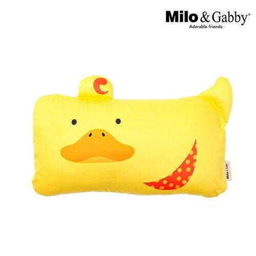 ★衛立兒生活館★Milo & Gabby 動物好朋友-mini枕頭套(DUKE小鴨)