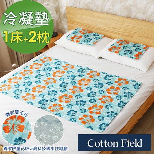 酷涼冷凝床墊組(1床+2枕)