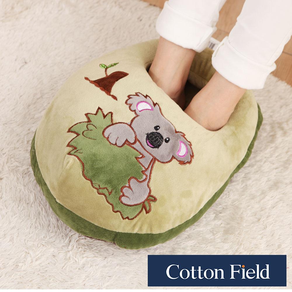 【無尾熊】超柔貼布刺繡暖腳枕
