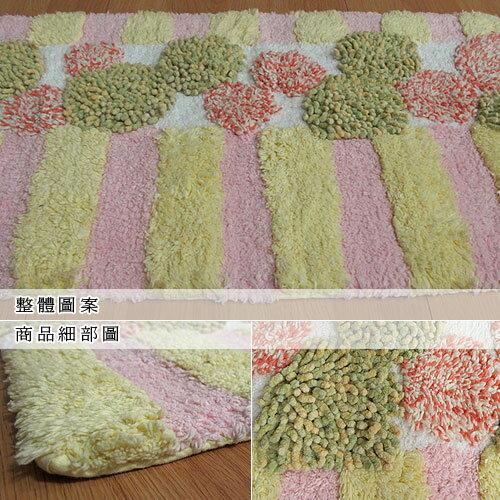 【圓點】純棉提花踏墊(40x60cm)
