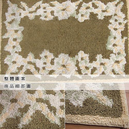 【朵妍-綠】純棉踏墊(45x70cm)
