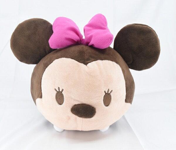 X射線【C170459】米妮Minnie邊緣系列30cm,絨毛填充玩偶玩具公仔抱枕靠枕娃娃