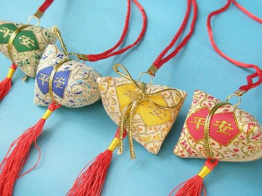 平安香包 粽子香包 項鍊式手工(成品) / 一包10個入 { 促80 }  端午節香包~4762 6
