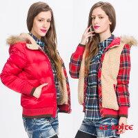 保暖推薦女羽絨外套推薦到雙面穿羽絨外套 - BLUE WAY  ET BOiTE 箱子就在ET BOITE箱子推薦保暖推薦女羽絨外套