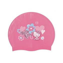 【H.Y SPORT】成功 SUCCESS HELLO KITTY泳帽/凱蒂貓矽膠泳帽/三麗鷗授權商品 (紅標特價)