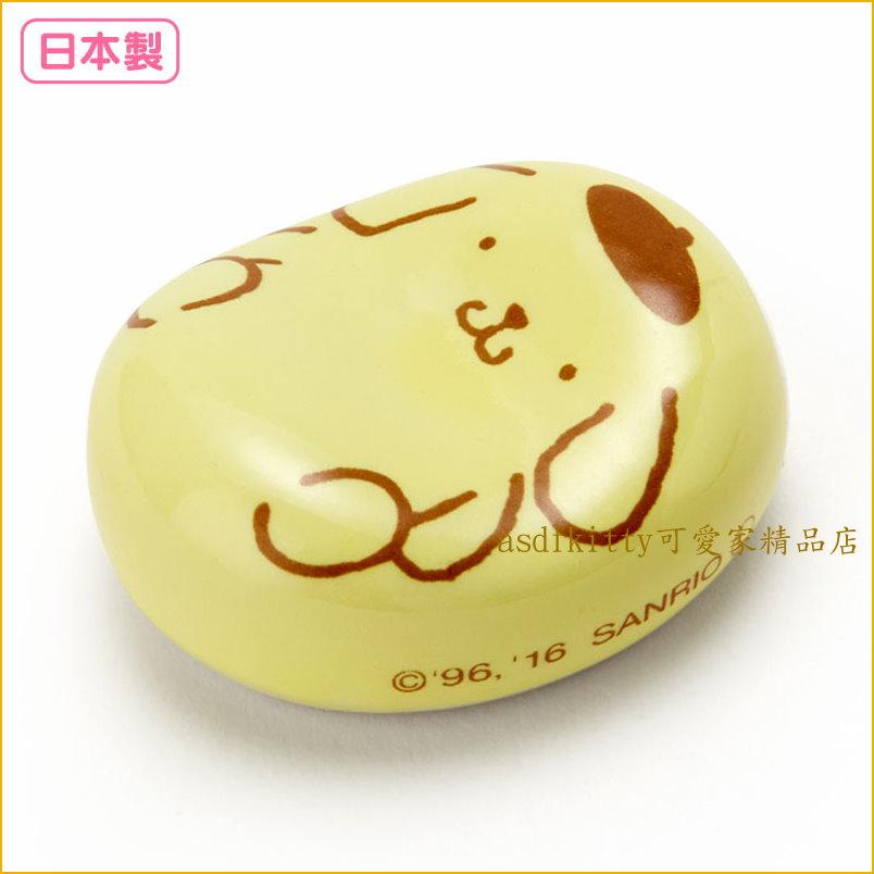 asdfkitty可愛家☆日本金正陶器布丁狗陶瓷筷架-日本製