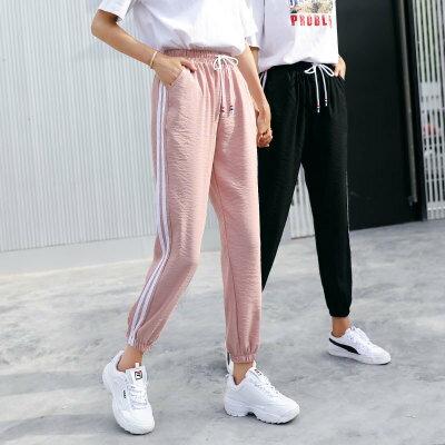 韓系女裝運動褲原宿哈倫ulzzang燈籠褲子九分褲樂天時尚館。預購